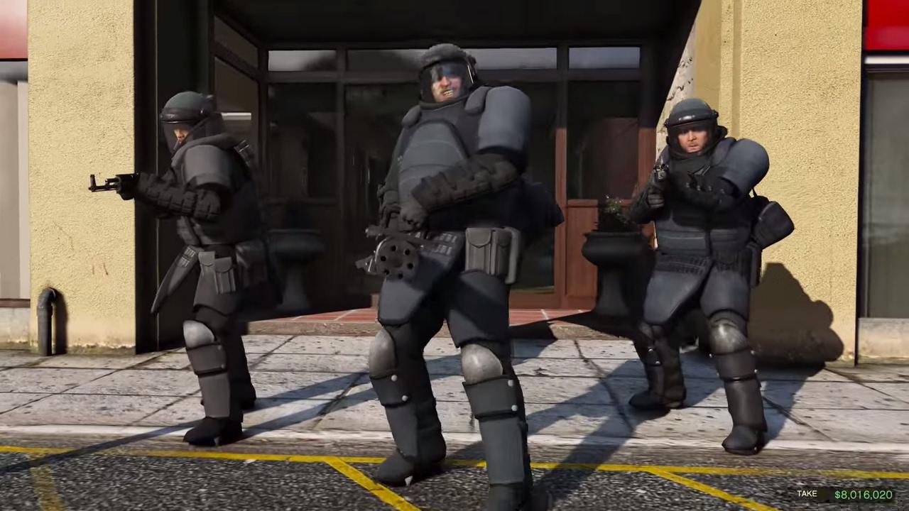 GTA 5 Story #22 – Vụ cướp ngân hàng gây chấn động vùng nông thôn | ND Gaming