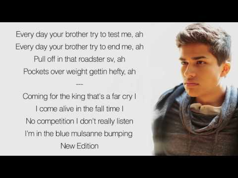 The Weeknd ft. Daft Punk : Starboy - Lyrics (Alex Aiono Cover)