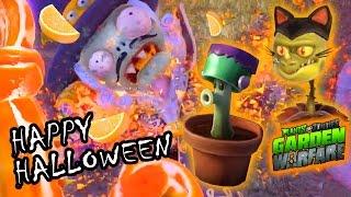 Download Video Frankenshroom, Cat Dragon & the Super Citrus Vampire Wave! HAPPY HALLOWEEN (PVZ Garden Warfare Ops) MP3 3GP MP4