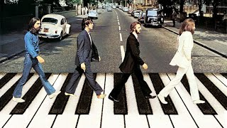 The Beatles - Something (cover on piano) видео