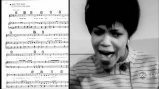 In The Studio: Ain't No Way - Aretha Franklin & Carolyn Franklin