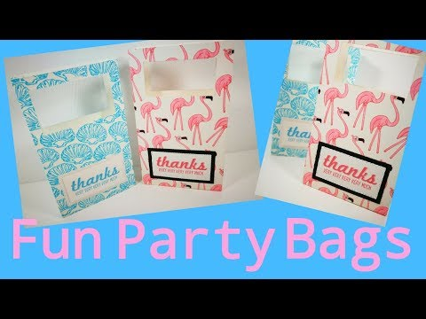 Fun Party Bags | Video Tutorial