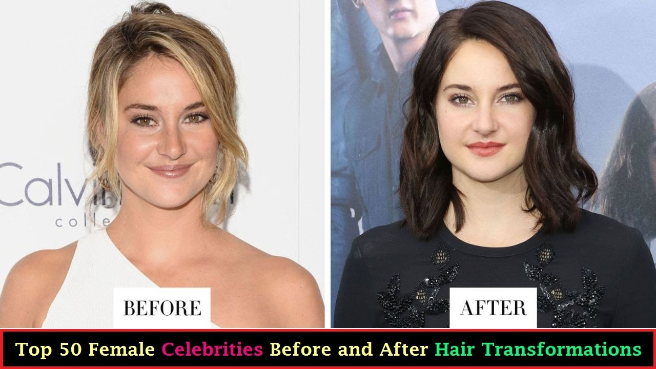 Top 50 Female Celebrity Hair Transformations of 2017 || Celebrity ...