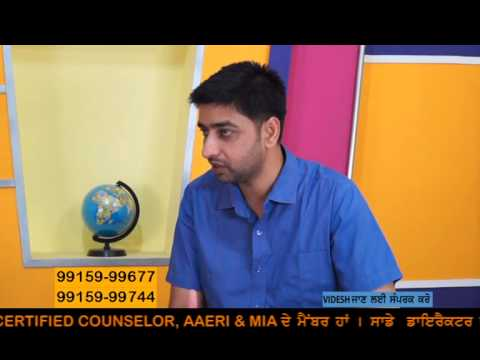 Mr Gurvinder Singh Kang's interview regarding study visas on DD Punjabi