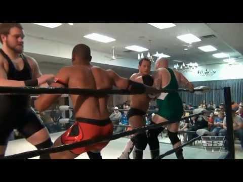 Vic Capri (c) vs Pauly Thomaselli vs Marshe Rockett vs Justice Jones - 5/26/13 - SSW Championship