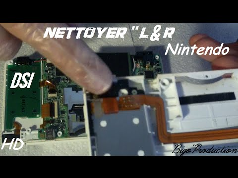 Réparer son bouton L-R Nintendo DSi -Bigo'Prod-