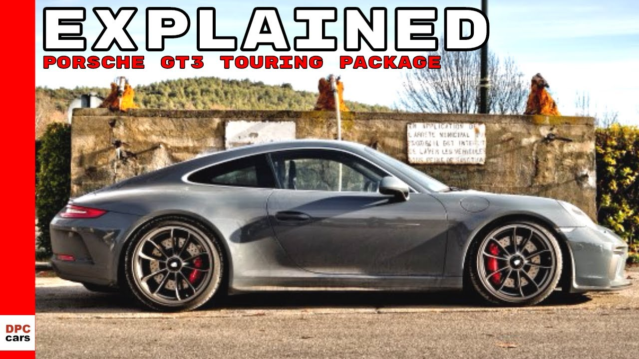 2018 porsche 911 gt3 touring package explained youtube. Black Bedroom Furniture Sets. Home Design Ideas