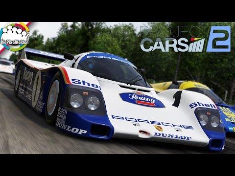 PROJECT CARS 2 - Porsche 962c @ Hockenheim Classic - Let's Play Project CARS 2