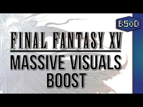 Final Fantasy XV | Massive In-Game Visual Boost