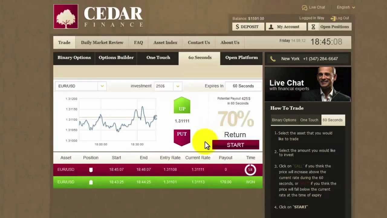Make Money Online Investing in Stocks, Gold, etc. Profit in 60 Seconds !!