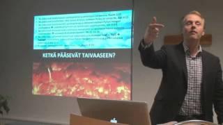 """Markku Veilo 26.10. 2015: """"Päämääränä taivas vai helvetti"""""""