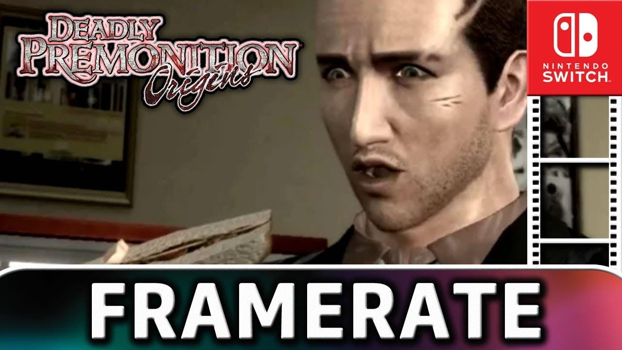 Deadly Premonition Origins | Docked VS Handheld | Frame Rate TEST on Switch