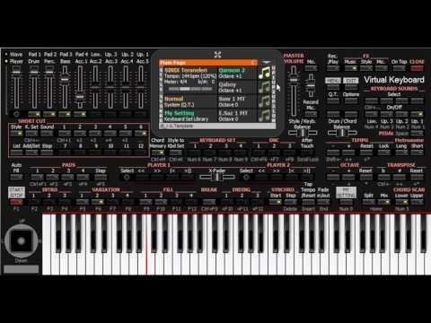 Mehmani - KORG PA4X - PC