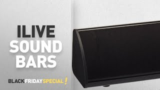 Cyber Monday ILive Sound Bars: iLive ITB105B 20-Inch Compact Sound Bar with Bluetooth 2.0