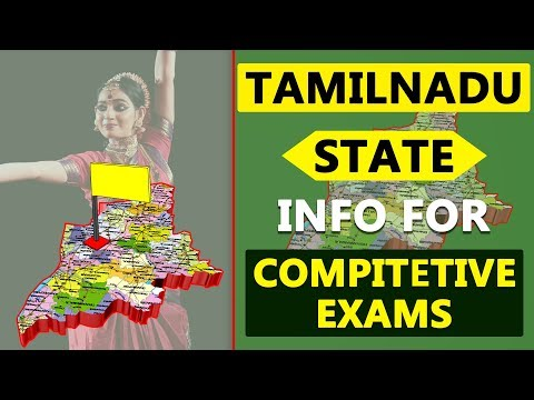 Tamilnadu State Information Details for Competitive Exams | GK | Quiz | Indian States Info 25