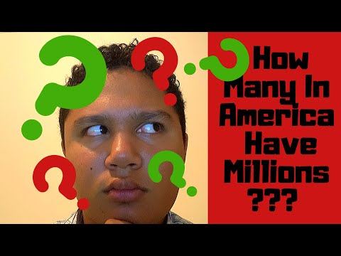 What Percent Of Americans Are Millionaires?  How To Become A Millionaire