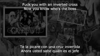"""Cranium - """" Ninphomaniac Nuns """"  subs Espanol + English lyrics ..."""