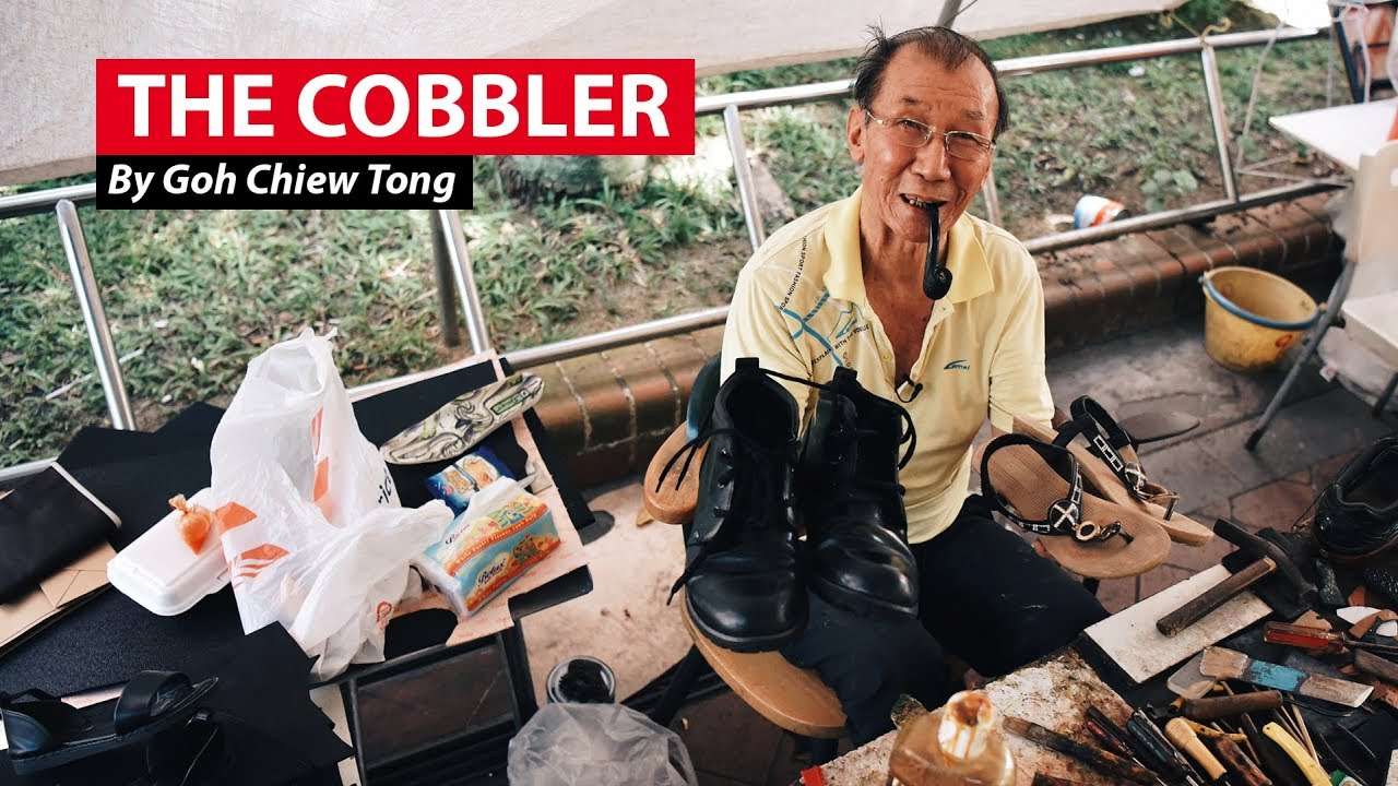 The Cobbler Of Waterloo Street - YouTube