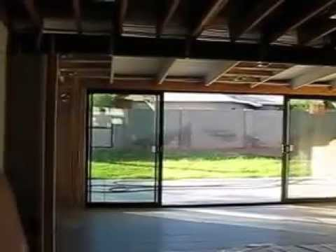 16 Ft Sliding Glass Door In A Ralph Haver Mid Century