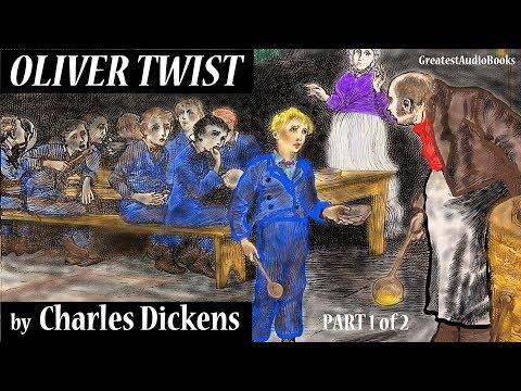 OLIVER TWIST by Charles Dickens - FULL AudioBook (Part 1 of 2)   GreatestAudioBooks V6