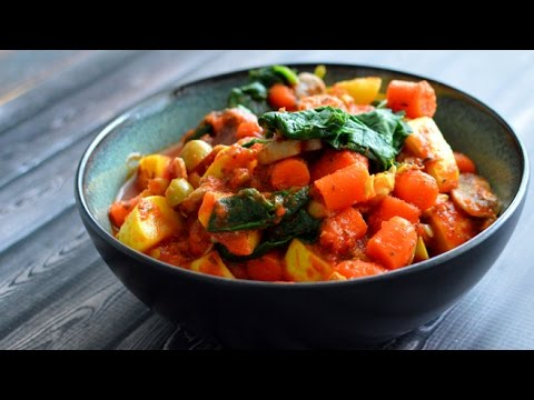 Vegan Italian Vegetable Stew George Foreman Grill Youtube