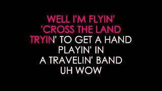 Creedence Clearwater Revival Travelin' Band Karaoke
