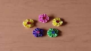 Video ini menjelaskan tentang cara mudah membuat bross bunga kanzashi dari kain perca. untuk ini, kita hanya membutuhkan perca sa...