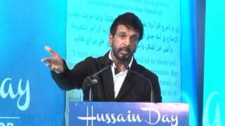 Mr. Jaaved Jaffrey at Hussain Day Bangalore 2015