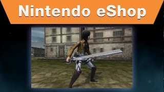 Nintendo eShop - Attack on Titan: Humanity in Chains Characters Trailer