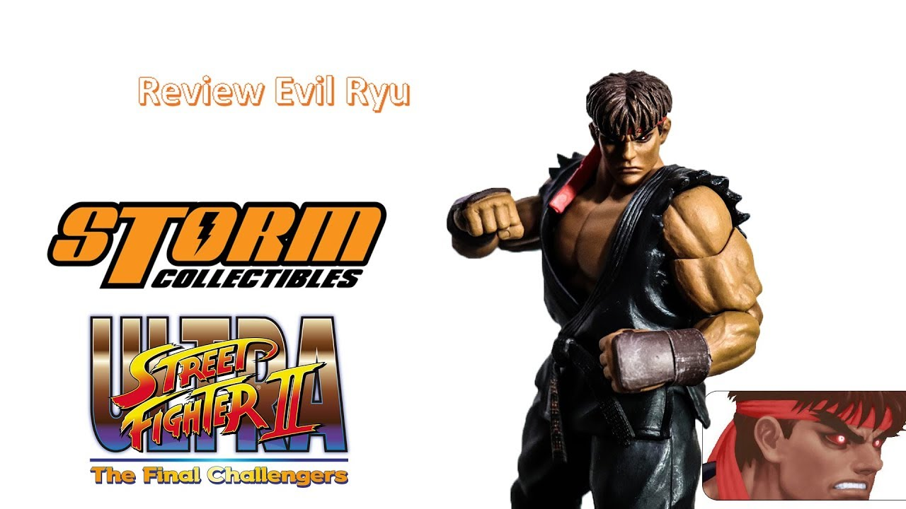 Storm Collectibles Evil Ryu Ultra Street Fighter II Final Challengers Figure NEW