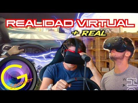 REALIDAD VIRTUAL en Málaga | Jugando a VIDEOJUEGOS casi reales!