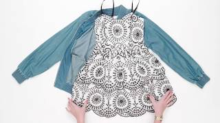 How to Wear One Sundress Seven Ways | Style Lab
