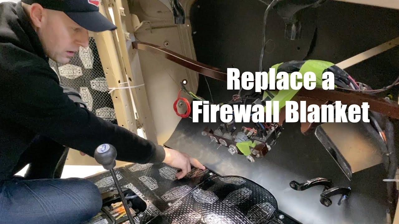 Need an Internal Firewall Sheet to Stop Sound and Heat?