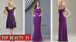 Top Purple bridesmaid dresses, eggplant bridesmaid dresses