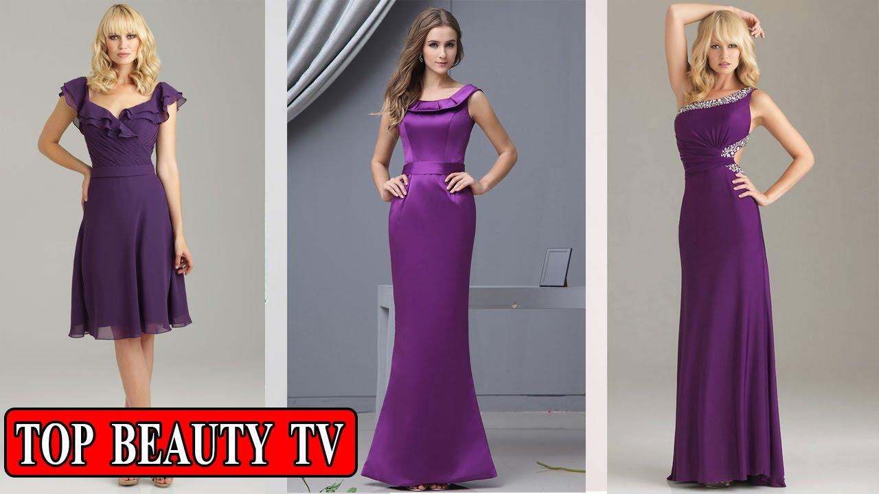 Top Purple bridesmaid dresses, eggplant bridesmaid dresses ...