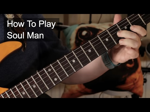 'Soul Man' Steve Cropper Guitar Lesson