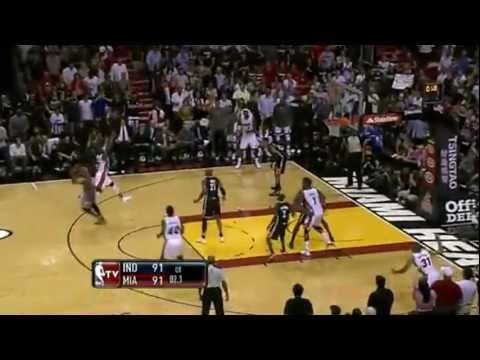 Dwyane Wade game winner vs. Indiana Pacers VS. Kevin Durant game winner 2011-2012 season!