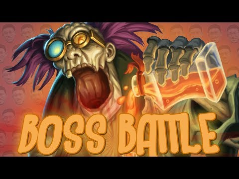 TRUMP PLAYS EVERY SINGLE BRAWL BOSS - Kobolds And Catacombs - Tavern Brawl