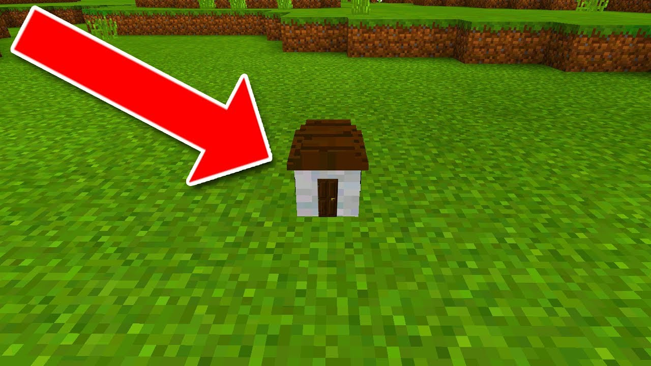 How To Live Inside The World U0026 39 S Smallest House In Minecraft Pocket Edition