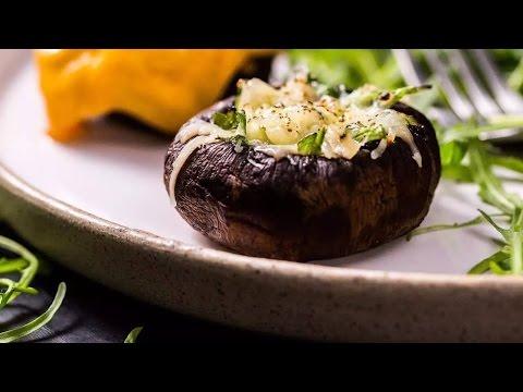 干酪蘑菇盅,别致又美味