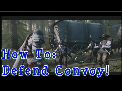 Defend Land Convoy BEST TUTORIAL - Trading Accounting Book Assassin's Creed 3 AC3 FurryMurry7