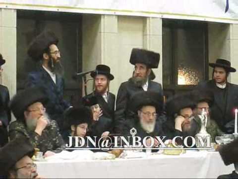 Bar mitzvah grandson spinka rebbe