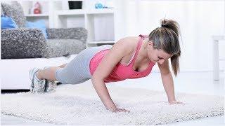 Фитнес зарядка для самых занятых! Фитнес дома