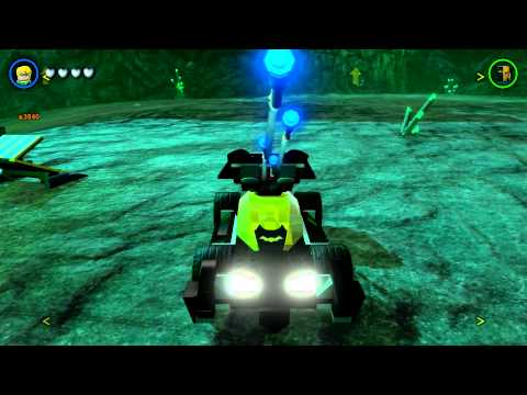 LEGO Batman 3: Beyond Gotham - A Look At All 19 Land Vehicles (Free Roam on Oa)