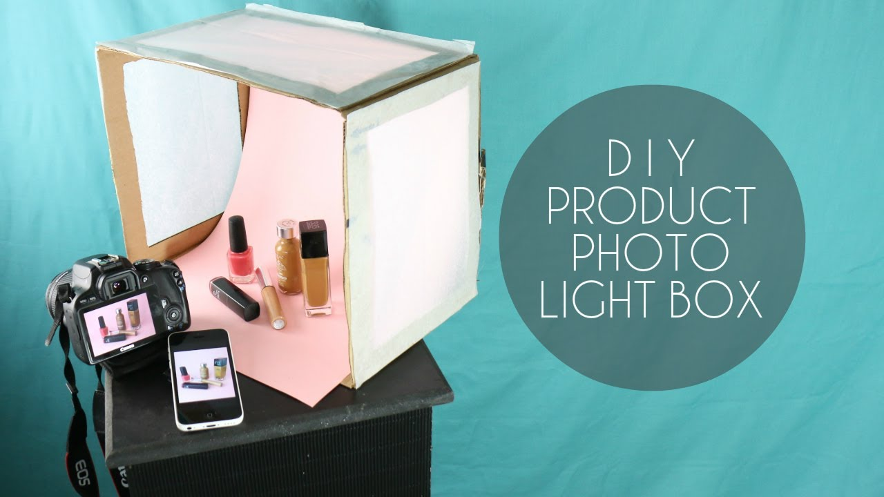 DIY PHOTOGRAPHY LIGHT BOX YouTube