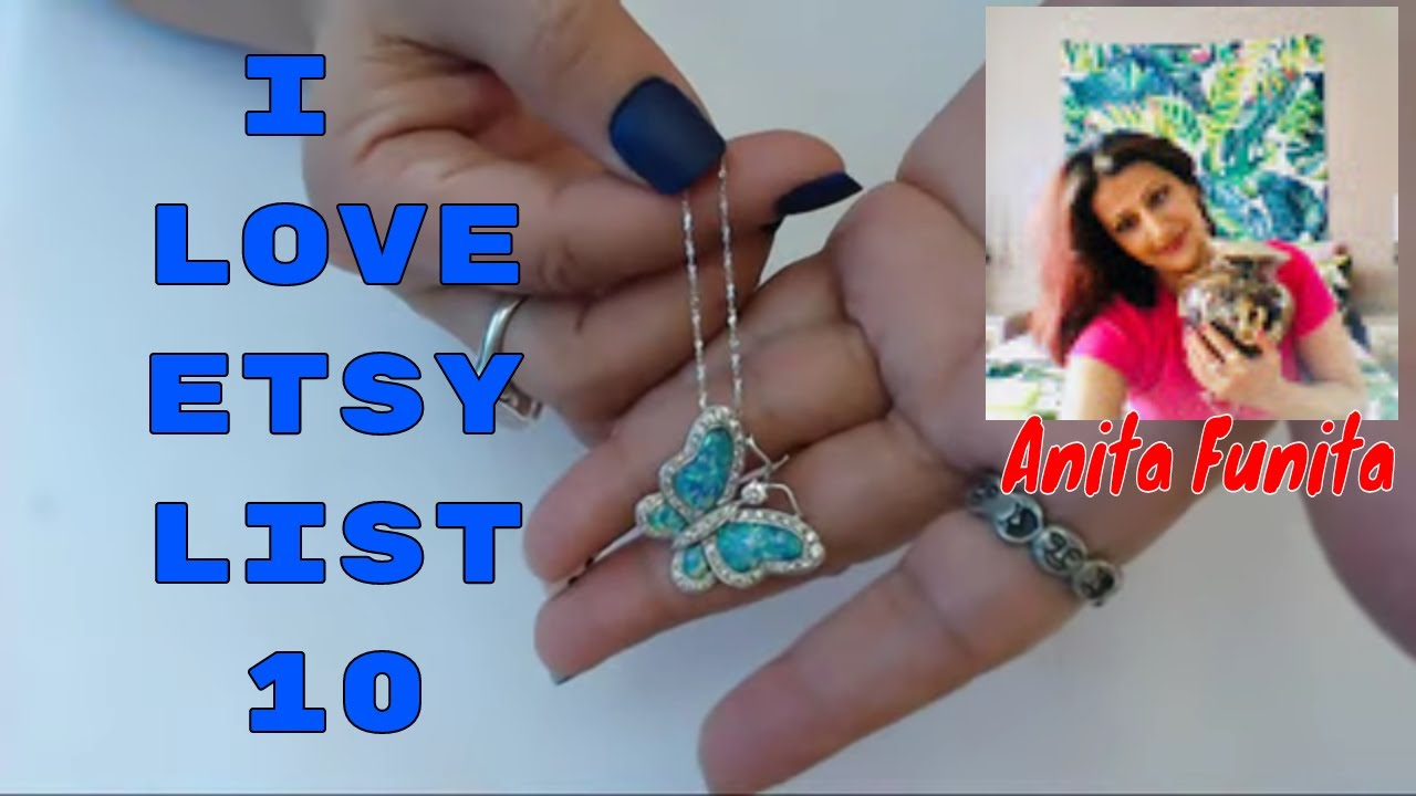 I Love Etsy, List 10 Series Episode 18 What's selling & What sold! Sterling Vintage Jewelry