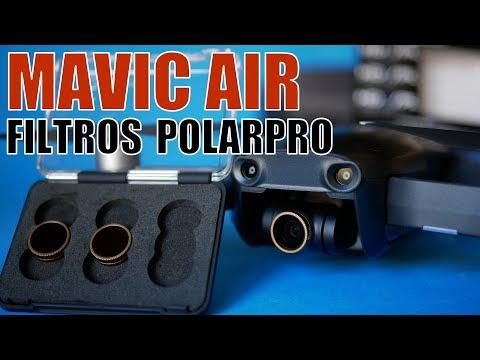 MAVIC AIR (ESPAÑOL) - FILTROS POLARPRO (Híbridos ND/PL) CINEMA SERIES VIVID COLLECTION