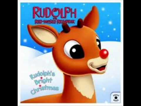 Rudolph the Red Nose Reindeer  In Greek!!!!!!!!
