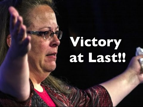 kim davis and the right to religious freedom Kim davis ' lawyer: she's not of her supporters gathered on the jailhouse lawn for what they called a rally for religious freedom do what's right.