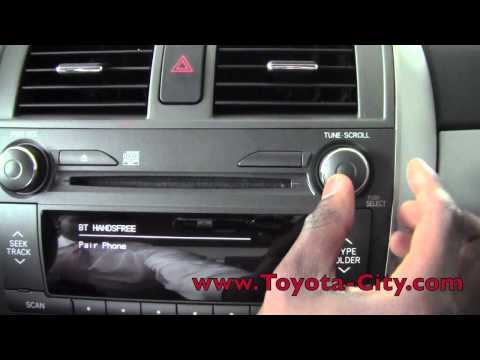 2011 | Toyota | Corolla | Bluetooth Setup | How To by Toyota City Minneapolis MN
